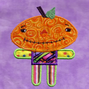 Cute Halloween Applique - Click Image to Close
