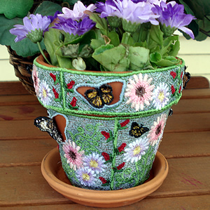 FSL Butterfly Flower Pot Cover