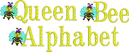 Queen Bee Alphabet - Click Image to Close