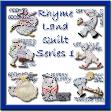 Rhyme Land Quilt Series 1