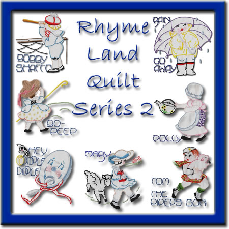 Rhyme Land Quilt Series 2