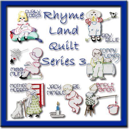 Rhyme Land Quilt Series 3