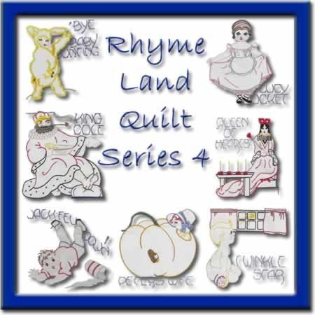 Rhyme Land Quilt Series 4