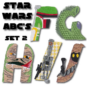 Star Wars Alphabet 2