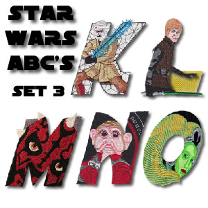 Star Wars Alphabet 3