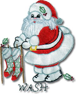 Vintage DOW Santa - Click Image to Close