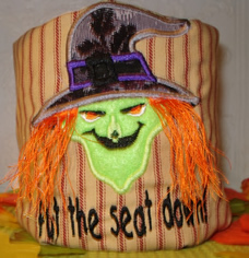 Scary Halloween Applique
