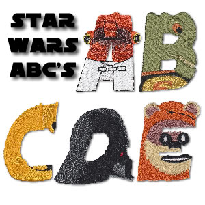 Star Wars Alphabet 1