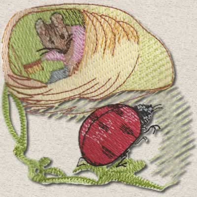 Beatrix Potter's Mrs.Tittlemouse Part 1 - Click Image to Close