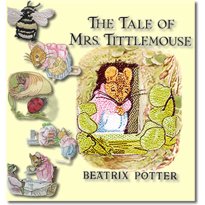 Beatrix Potter's Mrs.Tittlemouse Part 3
