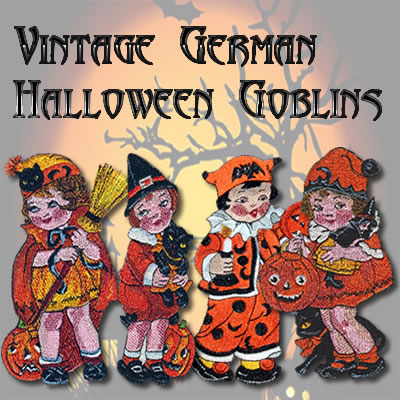 Vintage Halloween Children