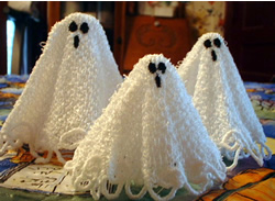 Free Standing Lace Ghost